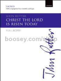 Christ The Lord Is Risen Today - Brass Set (Full Score)