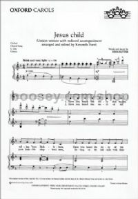 Jesus Child (Unison vocal score)