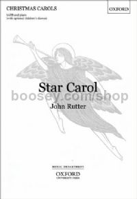 Star Carol (SATB Vocal Score)