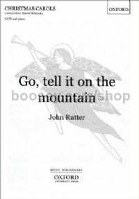 Go, tell it on the mountain for SATB & piano