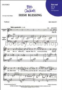 Irish Blessing (SATB with piano or organ accompaniment)