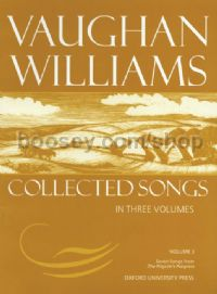 Vaughan Williams Collected Songs (vol.3)