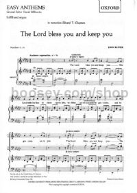 Lord Bless You And Keep You, The (SATB & Organ)