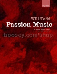 Passion Music (Female Solo/SATB Vocal Score)