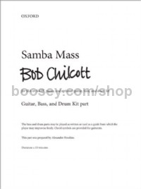 Samba Mass (Guitar, Bass & Drum Kit Parts)