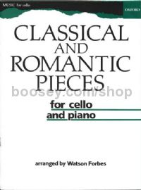Classical and Romantic Pieces for Cello