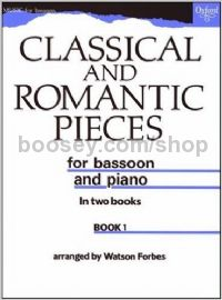 Classical & Romantic Pieces, Book 1 for Bassoon
