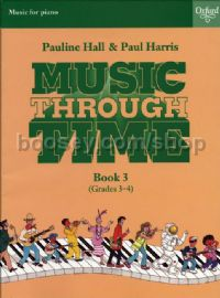 Music Through Time Piano Book 3 (Grades 3-4)