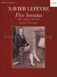 Five Sonatas for Clarinet & Piano