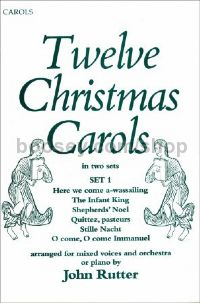 Twelve Christmas Carols: Set 1 (vocal score)