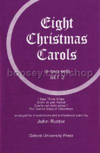 Eight Christmas Carols - Set 2 (vocal score)