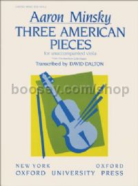 Three American Pieces (Solo viola)