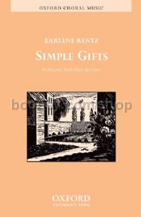 Simple Gifts for 2-part trebles & piano