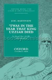 Twas in the year that King Uzziah died (vocal score)