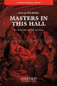 Masters in this hall (vocal score)