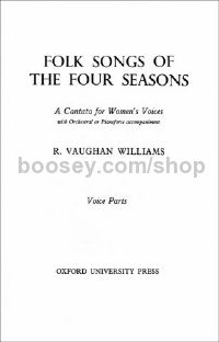 Folk Songs of the Four Seasons - Chorus part