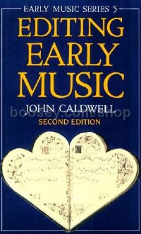 Editing Early Music (Paperback) 2nd Revised Edition (Early Music Series 5)