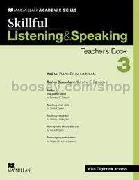 Skillful Level 3 Listening & Speaking Teacher's Book Pack (B2)