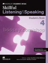 Skillful Level 4 Listening & Speaking Student's Book Pack (C1)