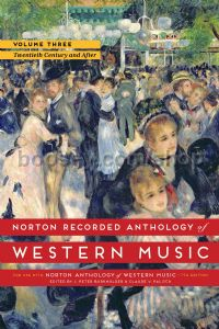 The Norton Recorded Anthology of Western Music, Vol. 3: The Twentieth Century and After (DVD-ROM)