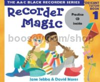 Recorder Magic Descant Book 1 (Book & CD)