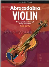 Abracadabra Violin (Third Edition)