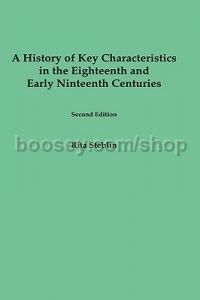 History of (key: C)haracteristics in the 18th and Early 19th Centuries (University of Rochester Pres