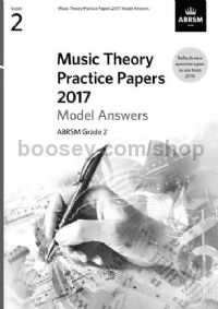 Music Theory Practice Papers 2017 Answers - Grade 2