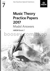 Music Theory Practice Papers 2017 Answers - Grade 7