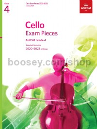 Cello Exam Pieces 2020-2023, ABRSM Grade 4, Score & Part