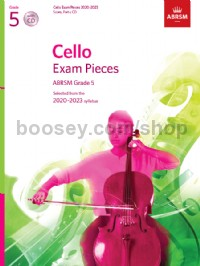 Cello Exam Pieces 2020-2023, ABRSM Grade 5, Score, Part & CD