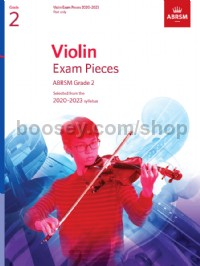 Violin Exam Pieces 2020-2023, ABRSM Grade 2, Part