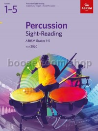 Percussion Sight-Reading, ABRSM Grades 1-5