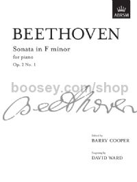 Sonata in F minor, Op. 2 No. 1 for piano