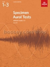 Specimen Aural Tests, Grades 1–3