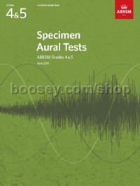 Specimen Aural Tests, Grades 4 & 5