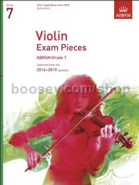 Violin Exam Pieces 2016–2019, ABRSM Grade 7, Score & Part