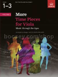 More Time Pieces for Viola, Volume 1