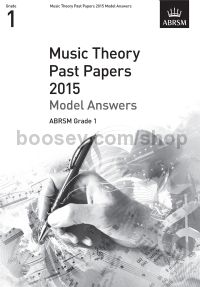 Music Theory Past Papers 2015 Model Answers, ABRSM Grade 1