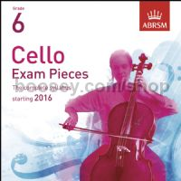 Cello Exam Pieces 2016 (2 CDs only), ABRSM Grade 6