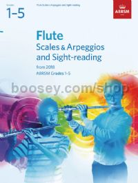 Flute Scales & Arpeggios and Sight-Reading, ABRSM Grades 1–5