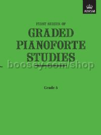 Graded Pianoforte Studies, First Series, Grade 5 (Higher)