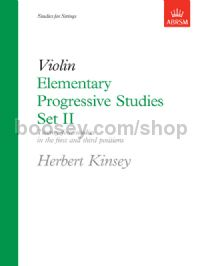 Elementary Progressive Studies, Set II