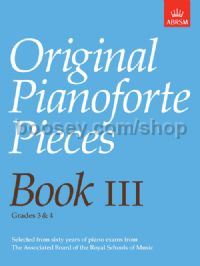 Original Pianoforte Pieces, Book III
