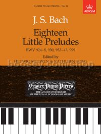 Eighteen Little Preludes for piano