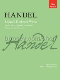 Selected Keyboard Works, Book I