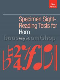 Specimen Sight-Reading Tests for Horn, Grades 1–5
