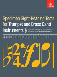 Specimen Sight-Reading Tests for Trumpet and Brass Band Instruments (Treble clef), Grades 1–5