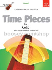 Time Pieces for Cello, Volume 3