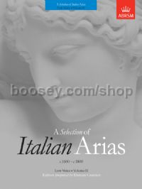 A Selection of Italian Arias 1600-1800, Volume II (Low Voice)